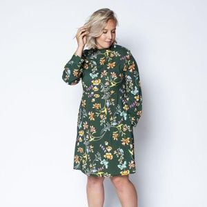 Juliet Printed Floral Dress